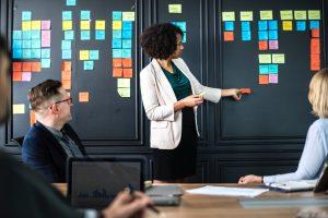 Presenting agile board